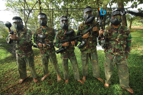paintball wargames