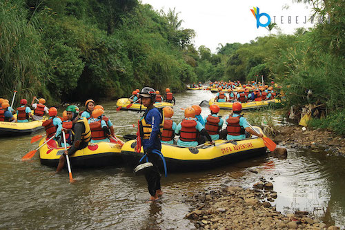 start rafting cisadane